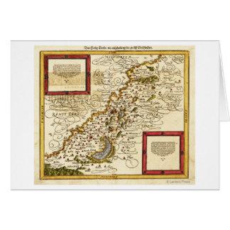 PalestinePanoramic MapPalestine 3 Card