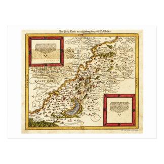 PalestinePanoramic MapPalestine 3 Postcard