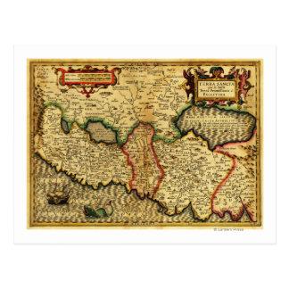 PalestinePanoramic MapPalestine 5 Postcard