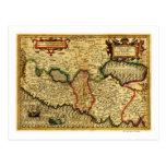 PalestinePanoramic MapPalestine 5 Tarjeta Postal
