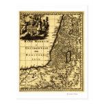 PalestinePanoramic MapPalestine Tarjeta Postal