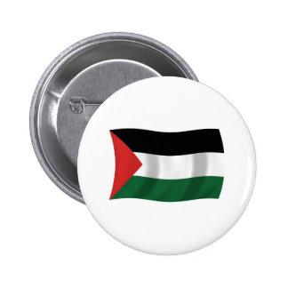 Palestinian Authority Flag Button