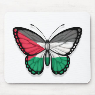 Palestinian Butterfly Flag Mouse Pad