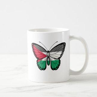 Palestinian Butterfly Flag Mug