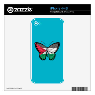 Palestinian Butterfly Flag Decals For iPhone 4S