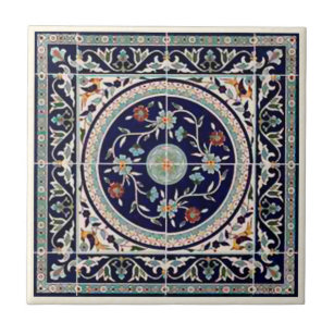 Cobalt Blue Decorative Ceramic Tiles Zazzle - Cobalt blue ceramic tile 4x4