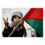 Palestinian Child for Peace Poster