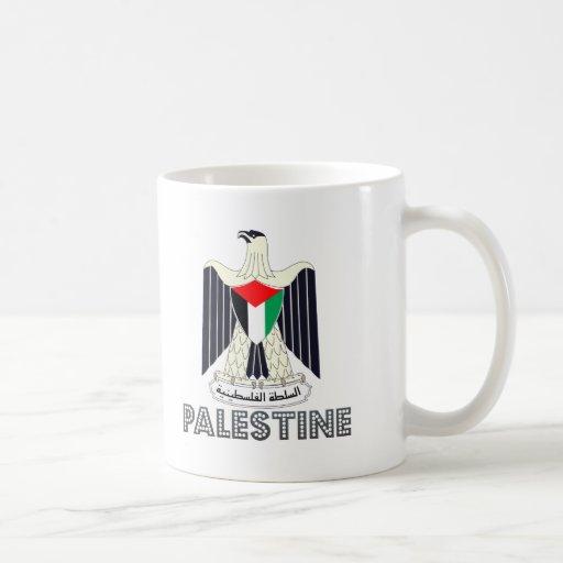 Palestinian Emblem Coffee Mugs