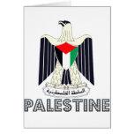 Palestinian Emblem Greeting Card
