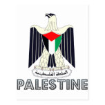 Palestinian Emblem Postcards