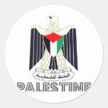 Palestinian Emblem Round Sticker