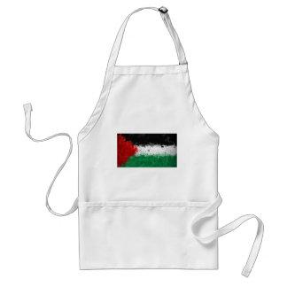 palestinian flag apron