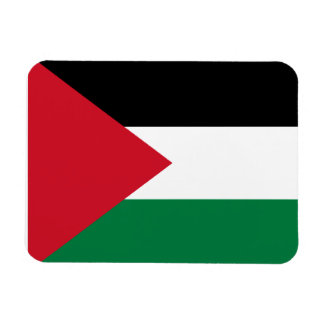 Palestinian Flag Rectangular Photo Magnet