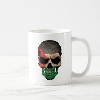 Palestinian Flag Skull Coffee Mugs