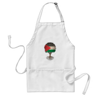 Palestinian Flag Tree of Life Customizable Adult Apron