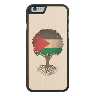 Palestinian Flag Tree of Life Customizable Carved® Maple iPhone 6 Case