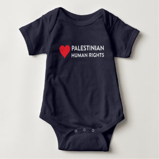Palestinian Human Rights Baby One Piece Bodysuit