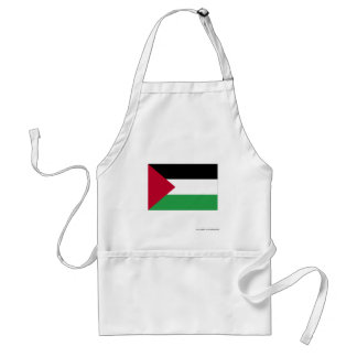 Palestinian Movement Flag Adult Apron