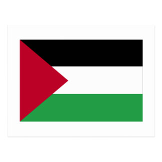 Palestinian Movement Flag Postcard