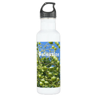 Palestinian Territory Olives 24oz Water Bottle