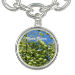 Palestinian Territory Olives Charm Bracelet