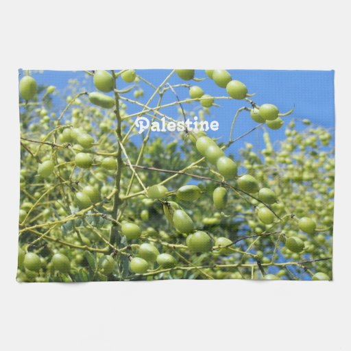Palestinian Territory Olives Kitchen Towels