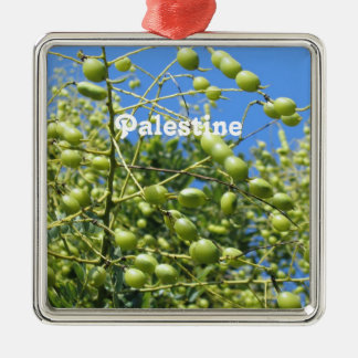 Palestinian Territory Olives Christmas Ornaments