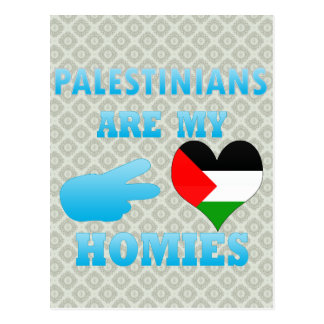 Palestinians are my Homies Post Card