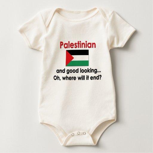 Palestino apuesto body para bebé