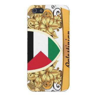 Palestino con clase iPhone 5 protectores