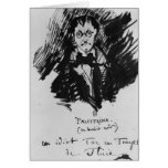 Palestrina in a Black Suit Greeting Card