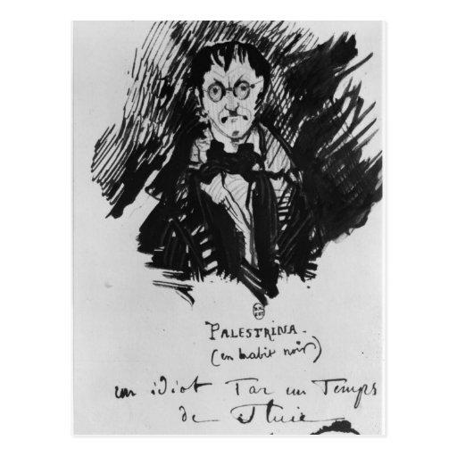 Palestrina in a Black Suit Postcard