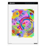 Paleta abstracta de colores iPad 3 skins