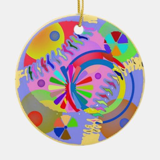 Paleta abstracta de colores ornamentos de reyes