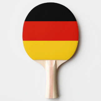 Paleta alemana del ping-pong de la bandera para lo pala de ping pong