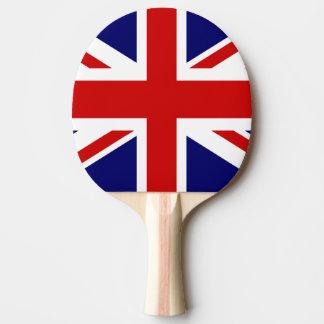 Paleta británica del ping-pong de la bandera para  pala de ping pong