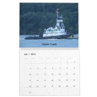 Paleta Bros. En el río Hudson 2016 Calendarios