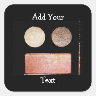 Paleta-Cara del maquillaje Etiquetas