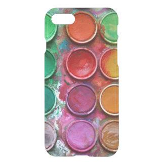Paleta colorida elegante de la caja de color de la funda para iPhone 7