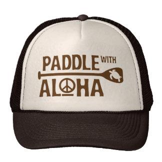 Paleta con el gorra del camionero de Brown de la h