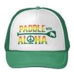 Paleta con el gorra del camionero del reggae de la