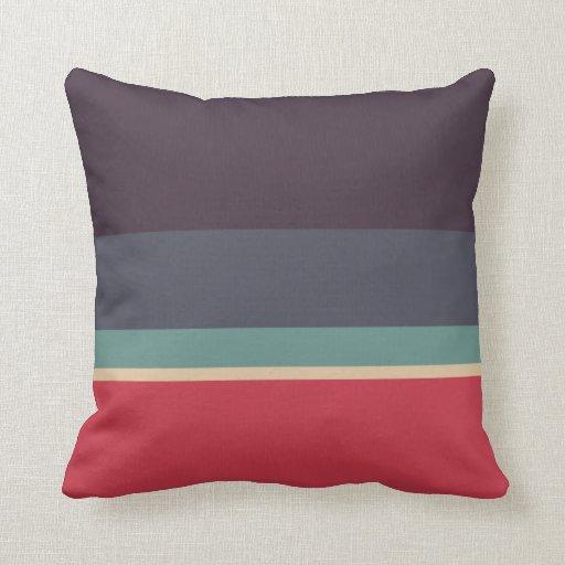 Paleta de colores cojines