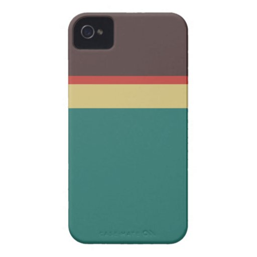Paleta de colores iPhone 4 funda