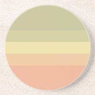 Paleta de colores posavasos diseño