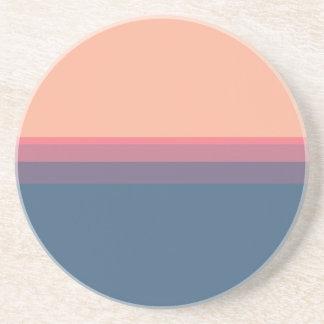 Paleta de colores posavasos para bebidas