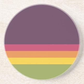 Paleta de colores posavasos personalizados