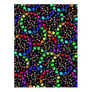 Paleta de colores postal