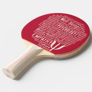 Paleta de encargo del ping-pong de la nube de la pala de tenis de mesa