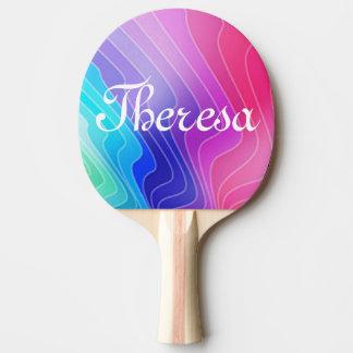 Paleta de encargo del ping-pong pala de tenis de mesa