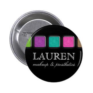 Paleta de la broche del botón de la etiqueta del n pin